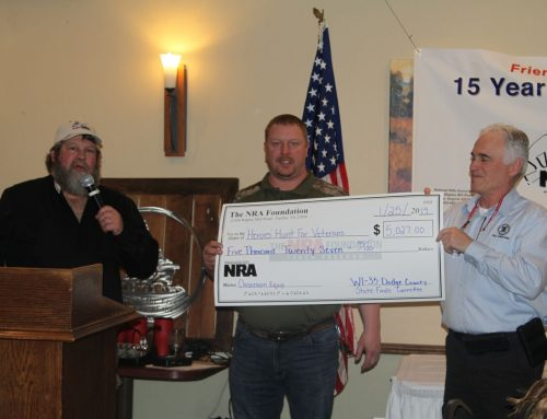 Another NRA grant to help out HHV!